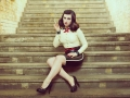 sexy latex costume cosplay burial at sea aka elizabeth from bioshock