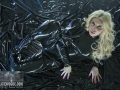 chained-in-chains-in-loose-latex-catsuit-19