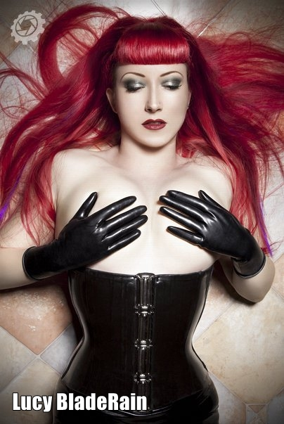 Lucy BladeRain - latex, pin-up, alternative & glamour model