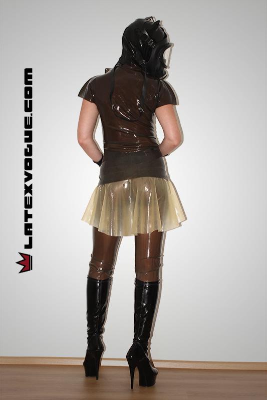latex, latexova, kolova, sukne, rounded, skirt, sexy, catsuit, mask